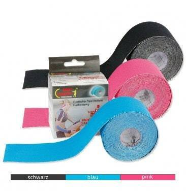 Body Concept Kinesiologisches D-Tape, 5cm x 5-m-Rolle
